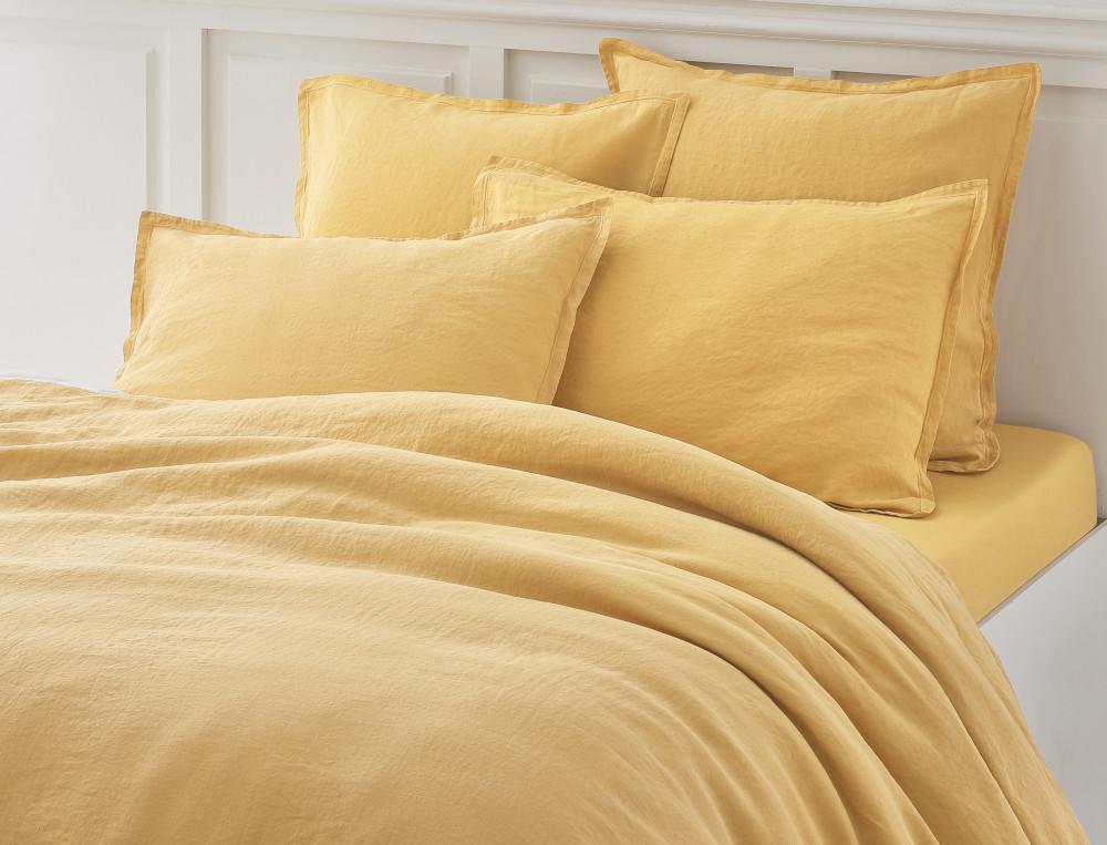 Linge de lit lin lavé Un autre lin