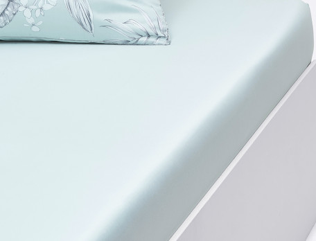 Linge de lit en satin Vallée des eaux claires