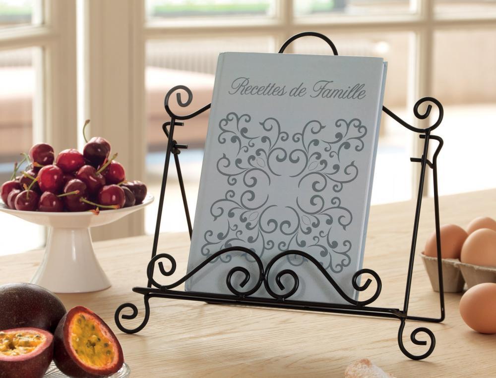 Lutrin en fer Recettes de famille et son carnet