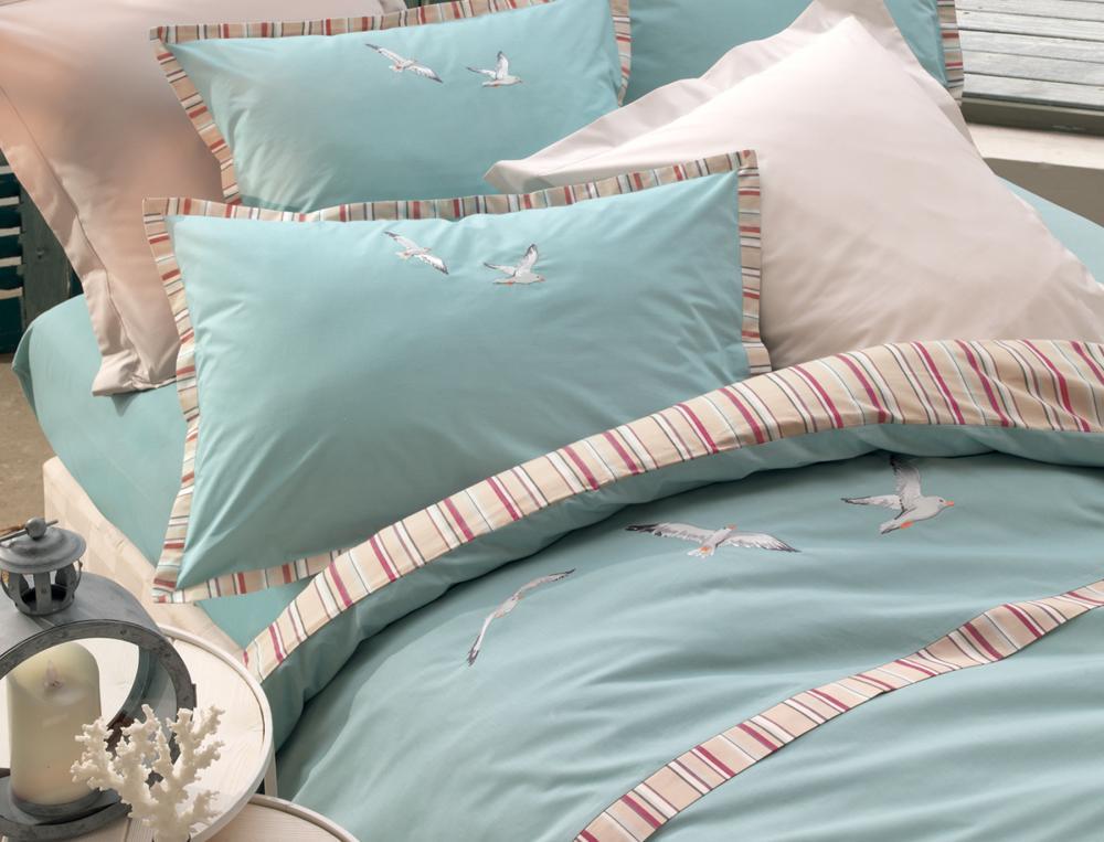 Linge de lit Marée haute percale 100% coton