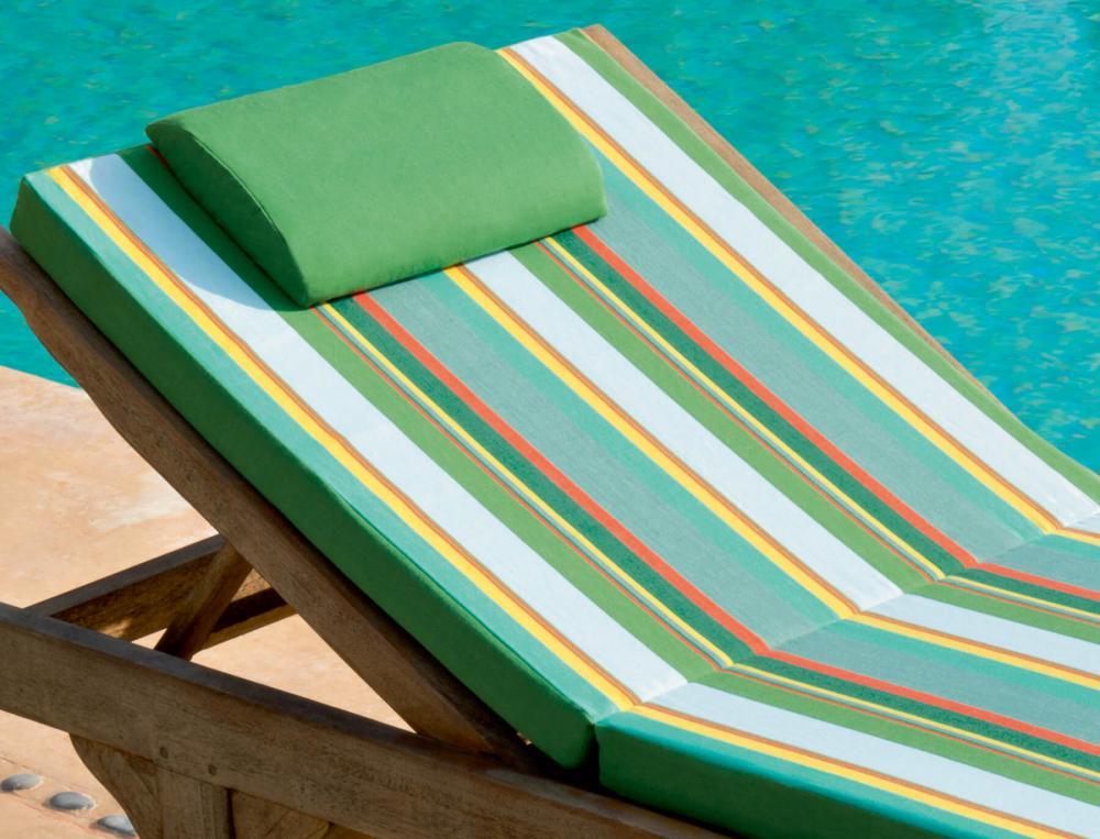 Matelas bain de soleil mousse haute densité Sur la durance