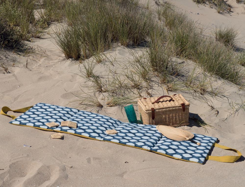 Matelas de plage Les galets de Collioure