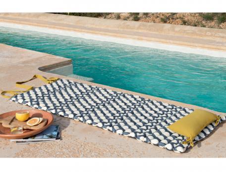 Matelas de sol imprimé Les galets de Collioure