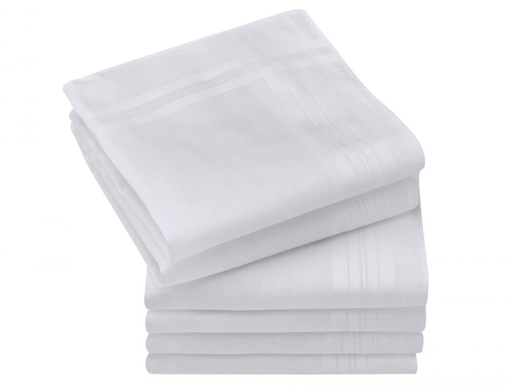 6 mouchoirs femme en coton Adèle