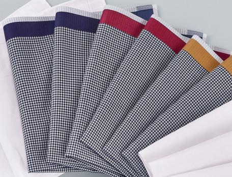 6 mouchoirs homme 100% coton peigné Brise