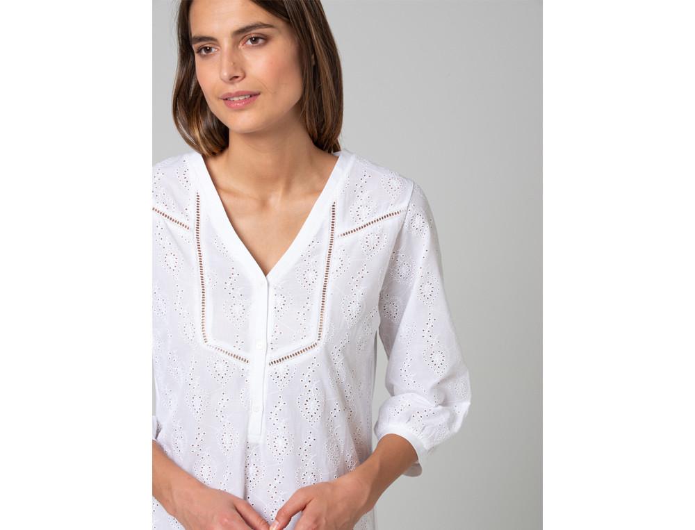 Nachthemd Große Liebe Baumwolle Linvosges