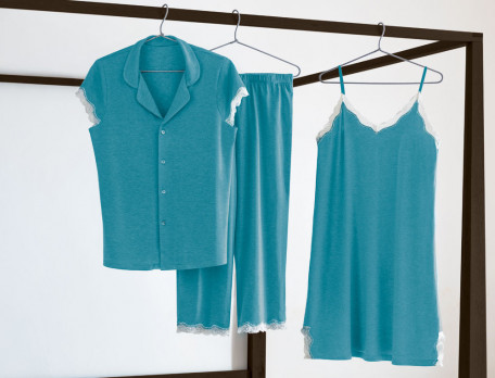 Nachthemd Josephine Baker Jersey Linvosges