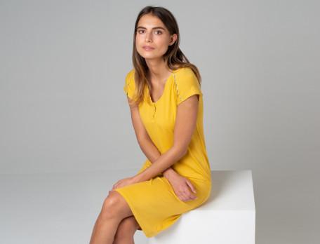 Nachthemd kurz Tiara Baumwolle Linvosges