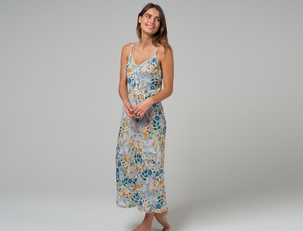 Nachthemd - lang Tiara Viskose Linvosges