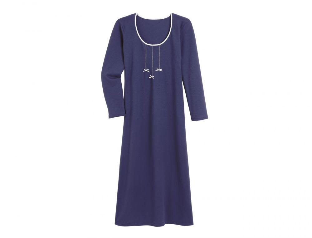 Nachthemd Maren Linvosges jersey Baumwolle