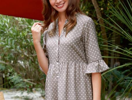 Nachthemd Orient Linvosges Baumwolle