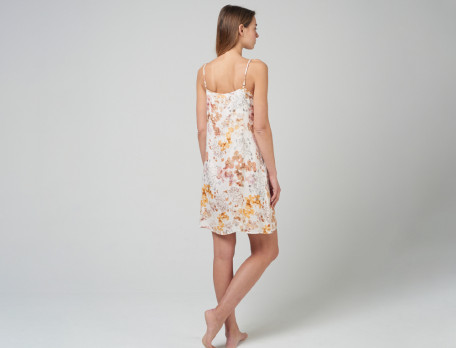 Nachthemd Blumenmotiv Schilfgras