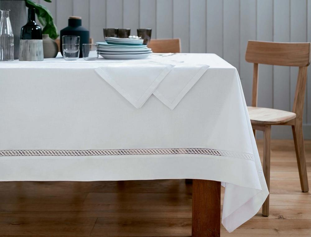 Nappe blanche Chantilly