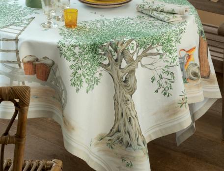 Nappe Déjeuner sous l'olivier