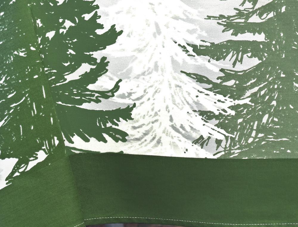 Nappe motif placé de sapins Forêt Noire