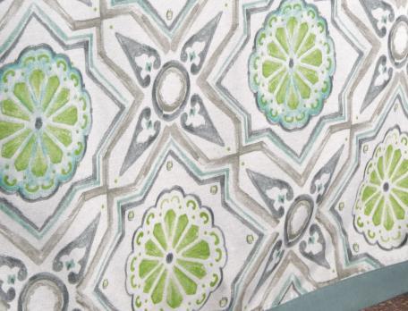Nappe motif mosaïque L'Andalouse