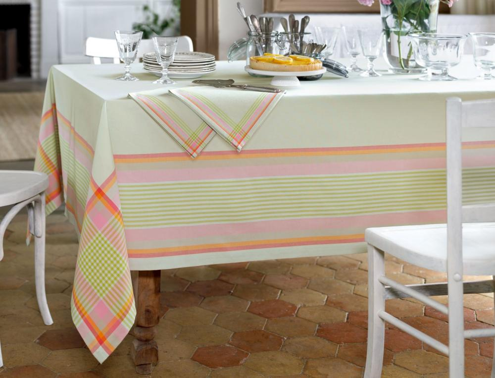La table linge de table linvosges Linge de table luxe