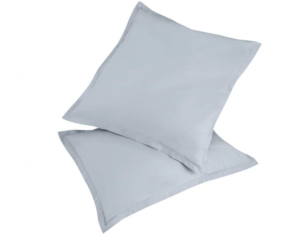 1 taie d'oreiller Coton fin grise achetée = 1 taie identique offerte