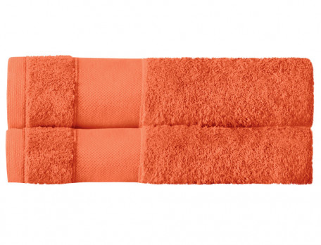 2er-Pack Badetücher Entspannungsoase Baumwolle Linvosges