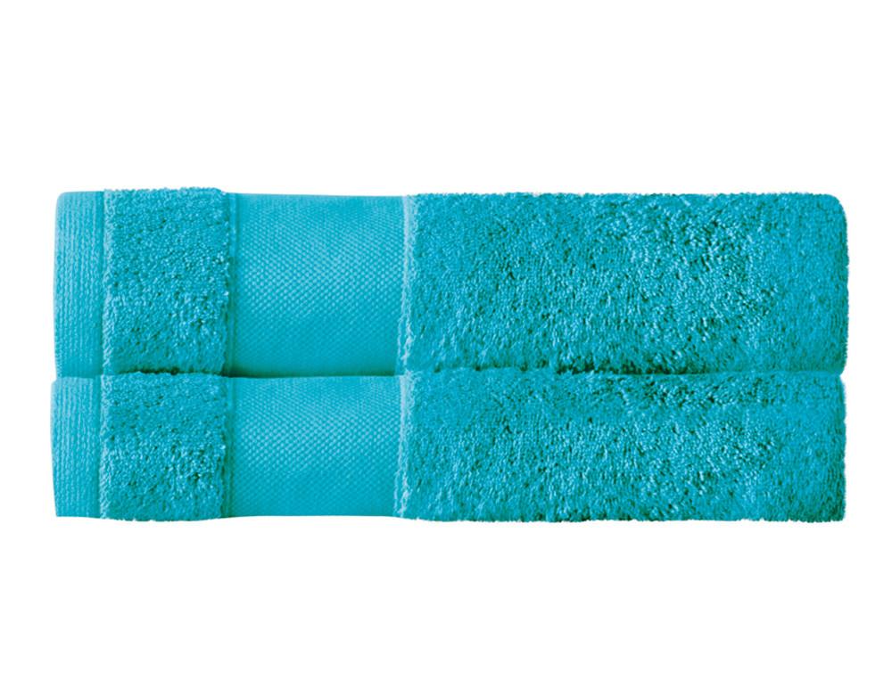 Lot 2 draps de bain unis 100% coton 600g/m2 Parenthèse