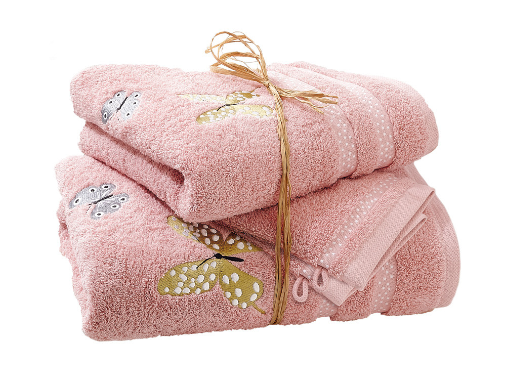 Pack linge de bain brodé Envolée