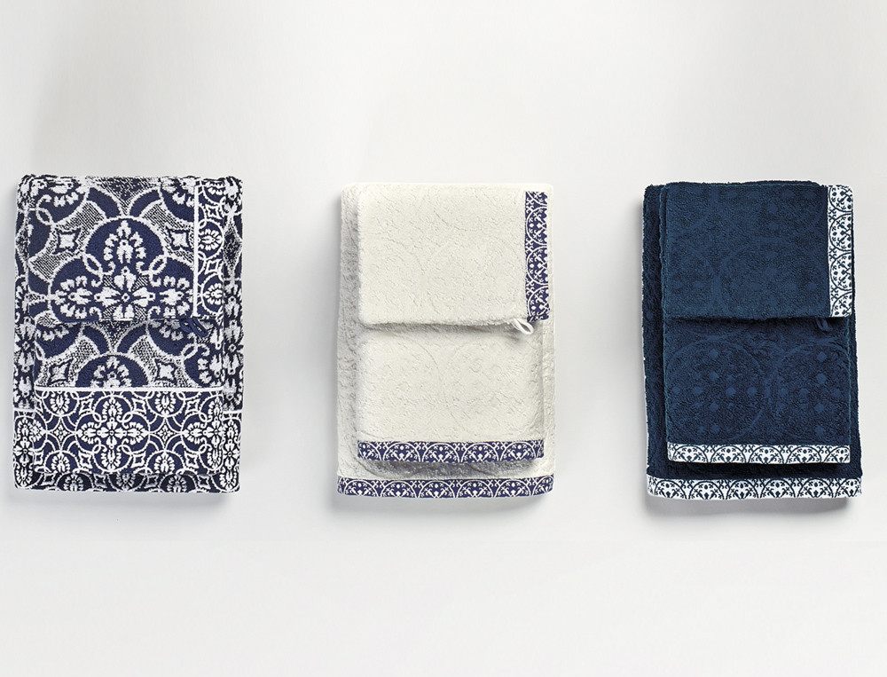 Pack linge de toilette Les bleus de Nîmes