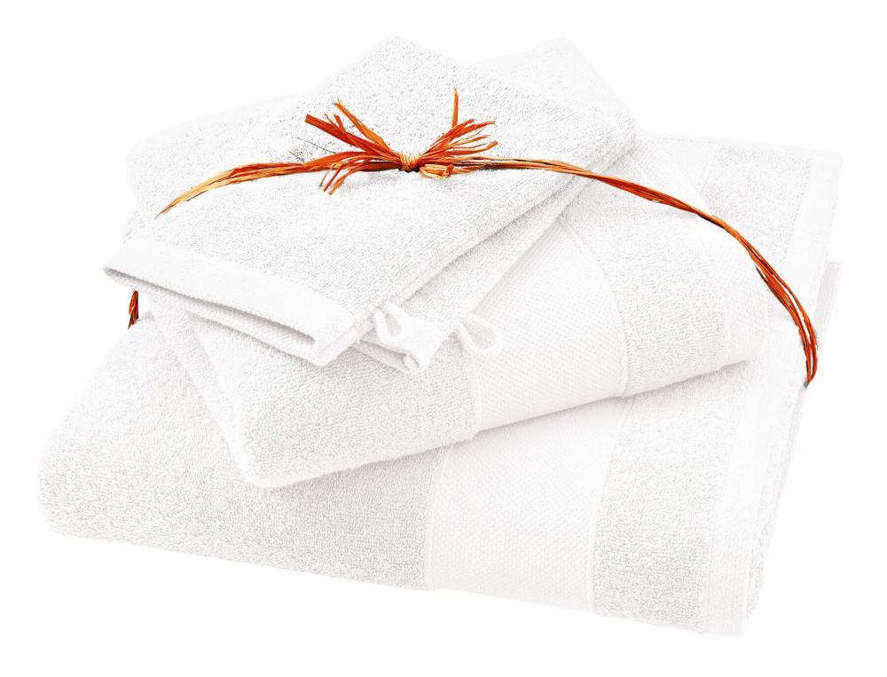 Pack linge de bain Parenthèse blanc