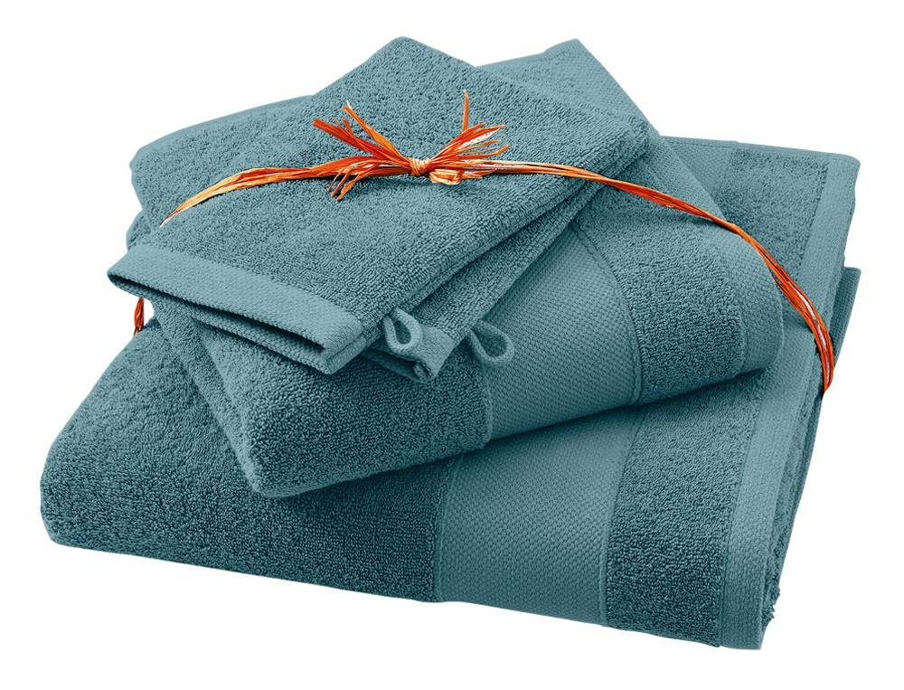 Pack linge de toilette Parenthèse gris tempête 100% coton