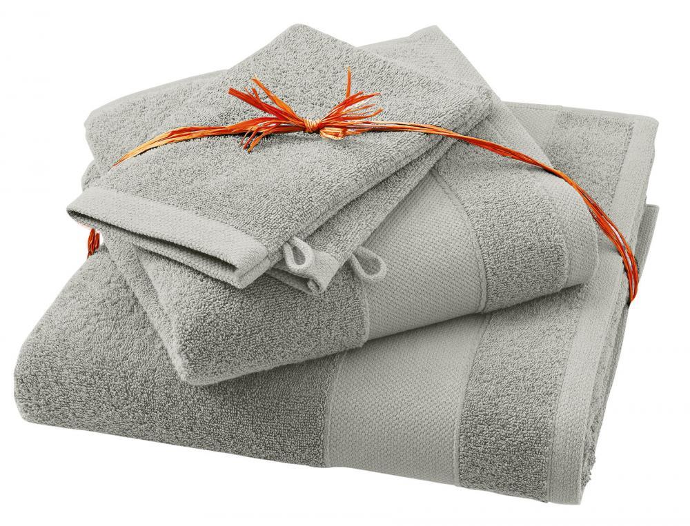 pack linge de toilette parenth se gris linvosges. Black Bedroom Furniture Sets. Home Design Ideas