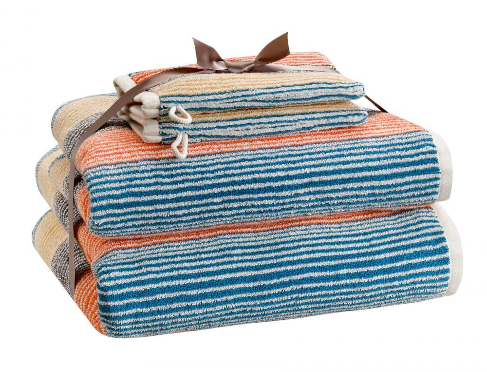 Pack Linge de bain Toile d'ailleurs jacquard