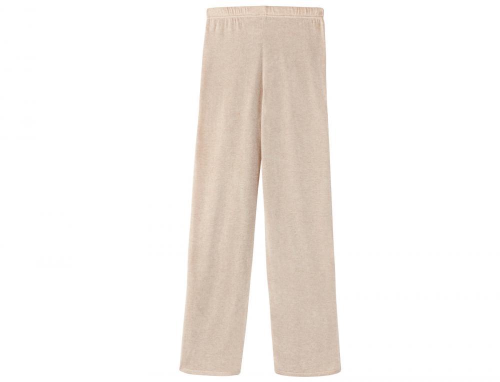 Pantalon en maille Route de la soie