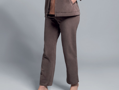 Pantalon velours marron Ambre