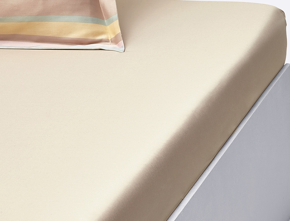 Linge de lit satin Pastels
