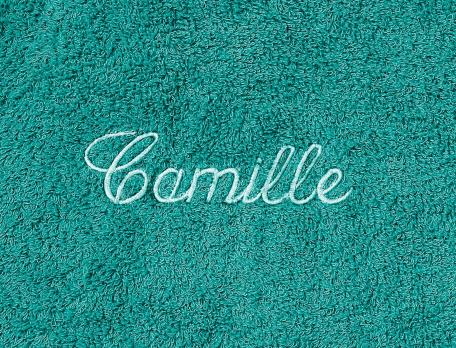 Peignoir femme brodable Font Romeu