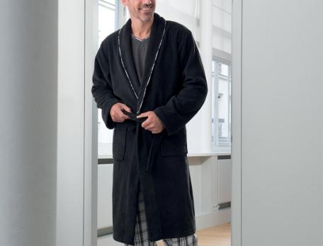 Peignoir homme polaire Féminin masculin
