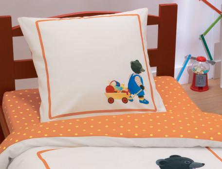 Parure de lit enfant 100% coton Petit Ours Brun®