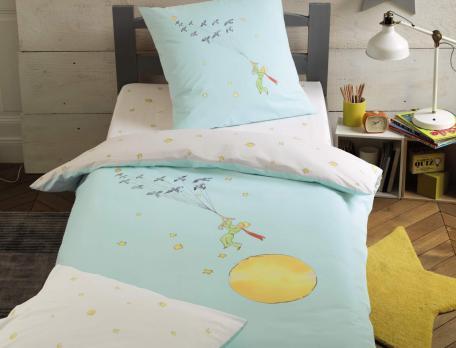 Parure de lit enfant imprimé 100% coton Petit Prince