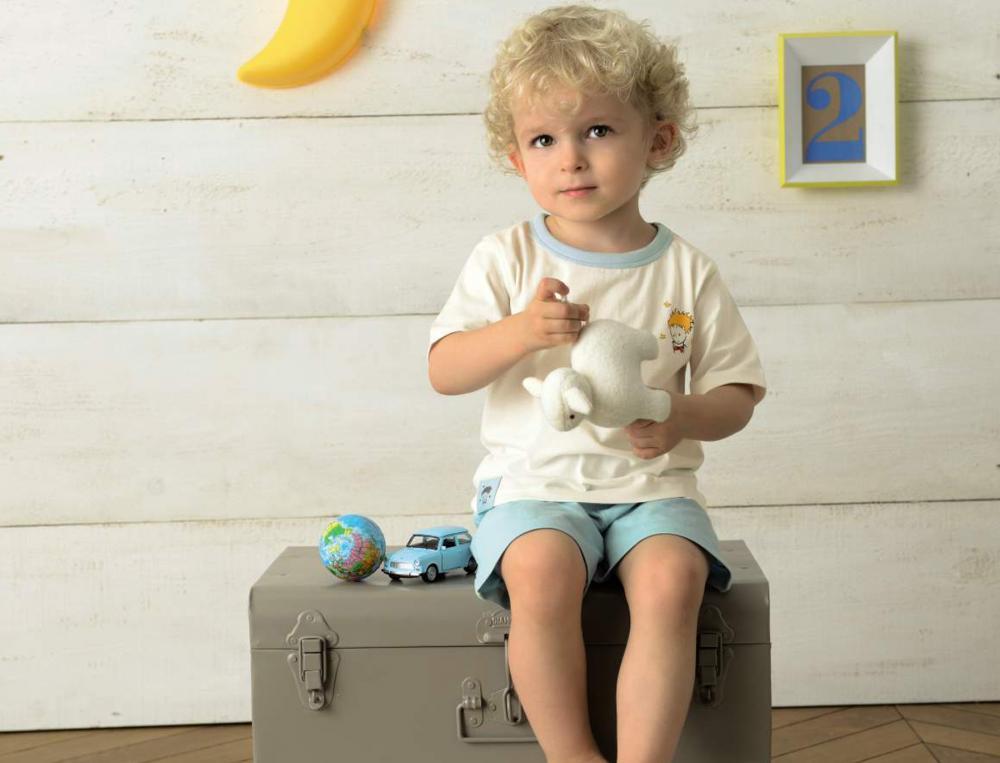 Pyjama enfant et pyjashort Petit Prince