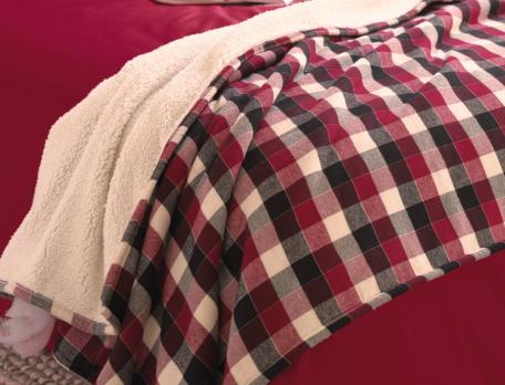 Plaid réversible Tyroll