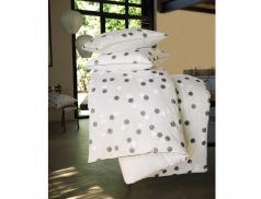Linge de lit Pois de lune percale 100% coton