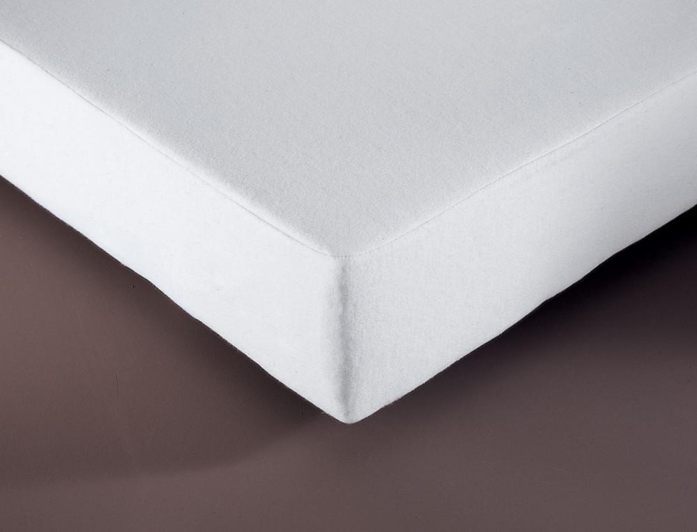 Protège-matelas réversible 4 saisons polyuréthane 350g/m2