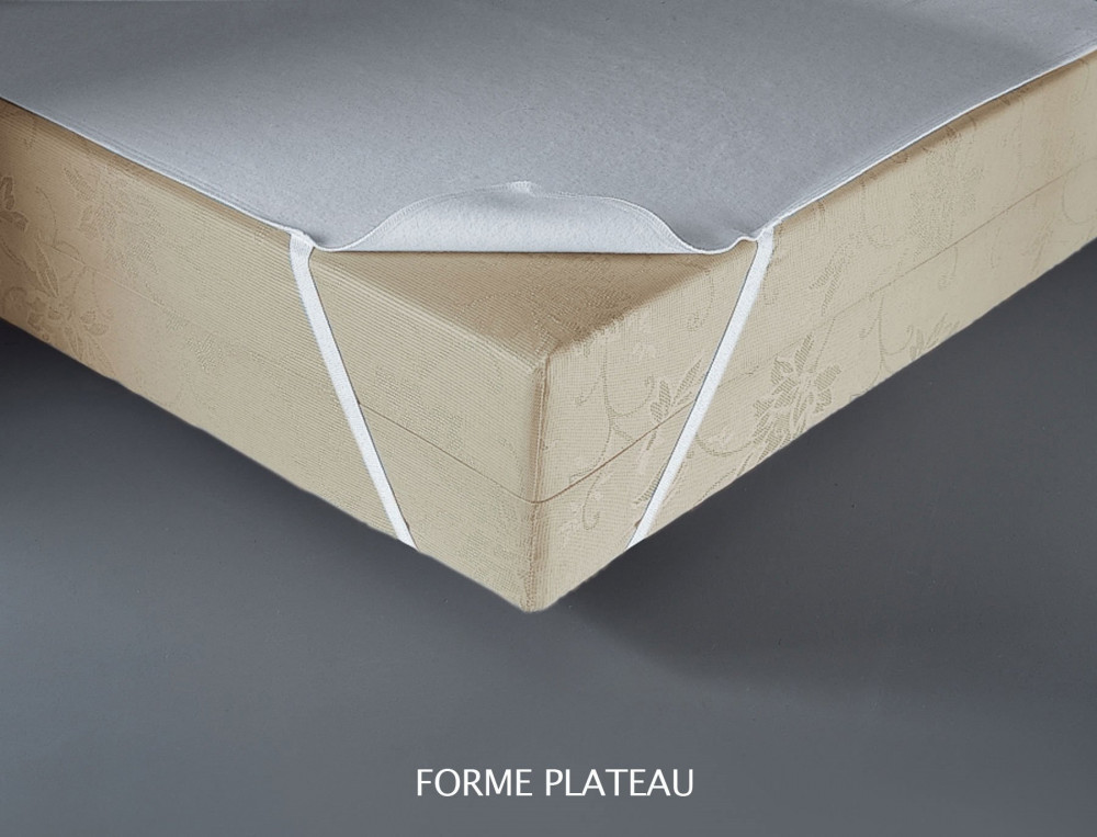 Protection et cache sommier ponge polyur thane 215g m2 for Housse cache sommier 160x200