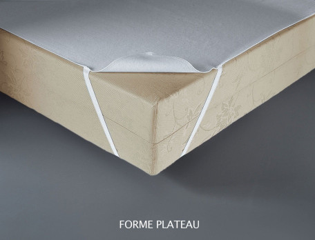 Protège-matelas 1 ou 2 personnes Jersey extensible polyuréthane