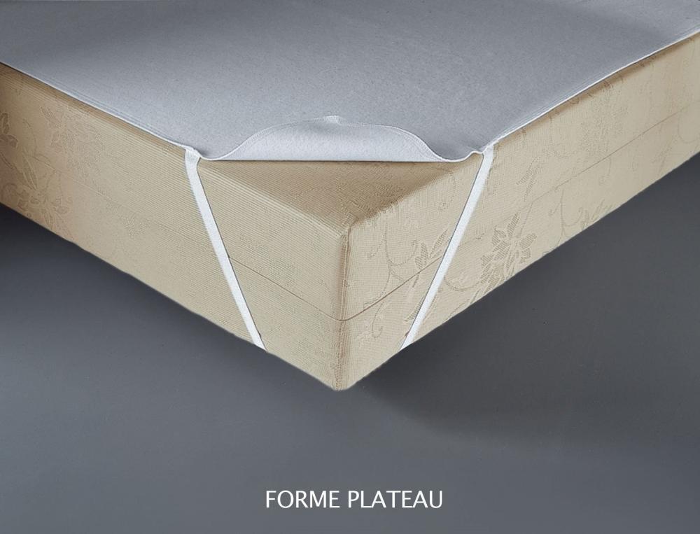 Protège-matelas Molleton 4 saisons élastomère aegis 350g/m²