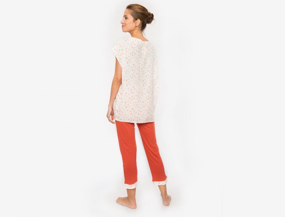 Pyjama court Coquillages