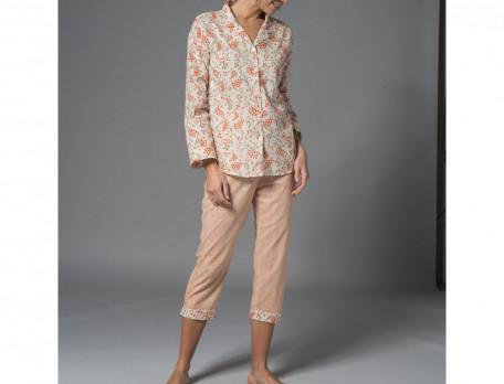 Pyjama voile de coton À Pondichéry