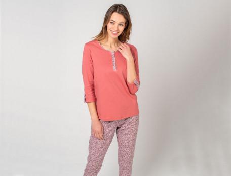 Pyjama 100% coton Au jardin des plantes