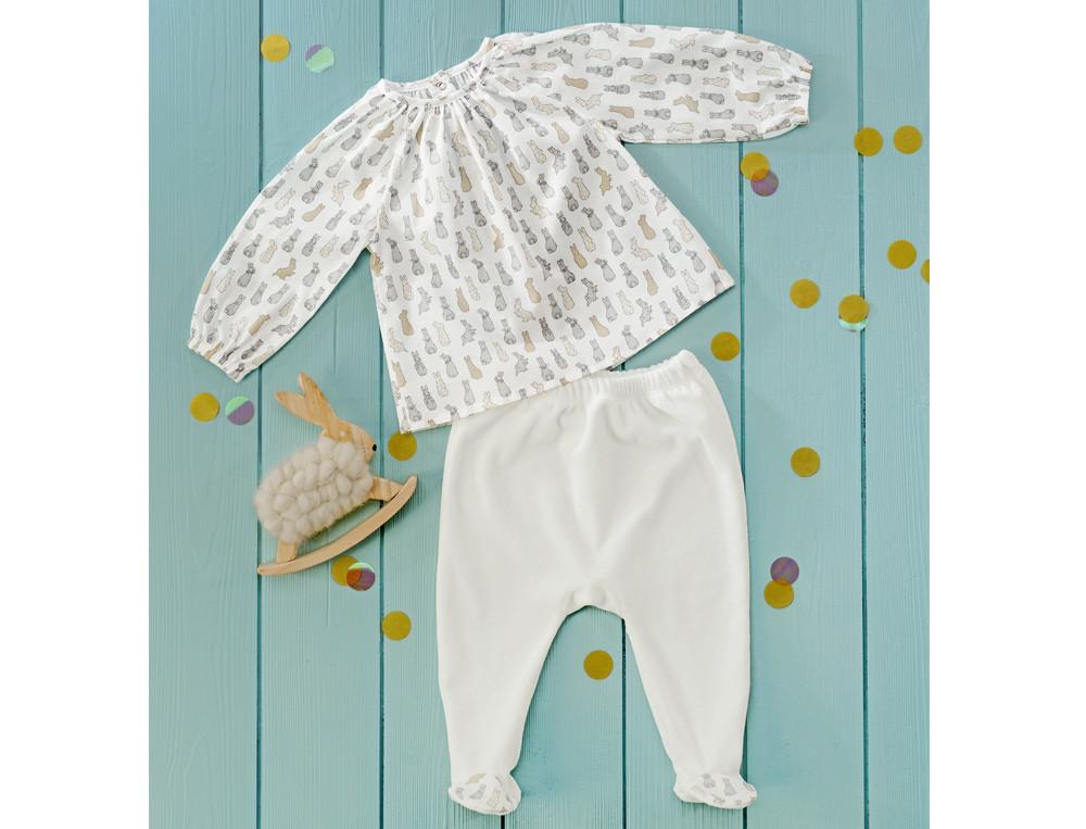 Pyjama bébé fille Compagnie des lapins