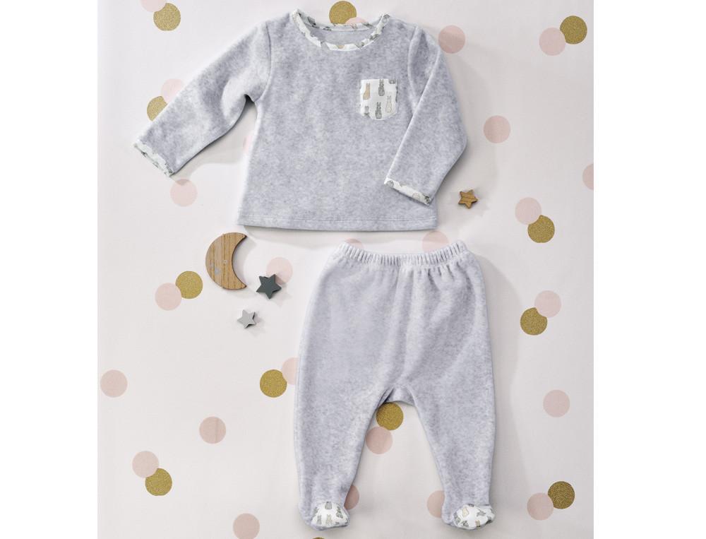 Pyjama bébé garçon 2 pièces Compagnie des lapins