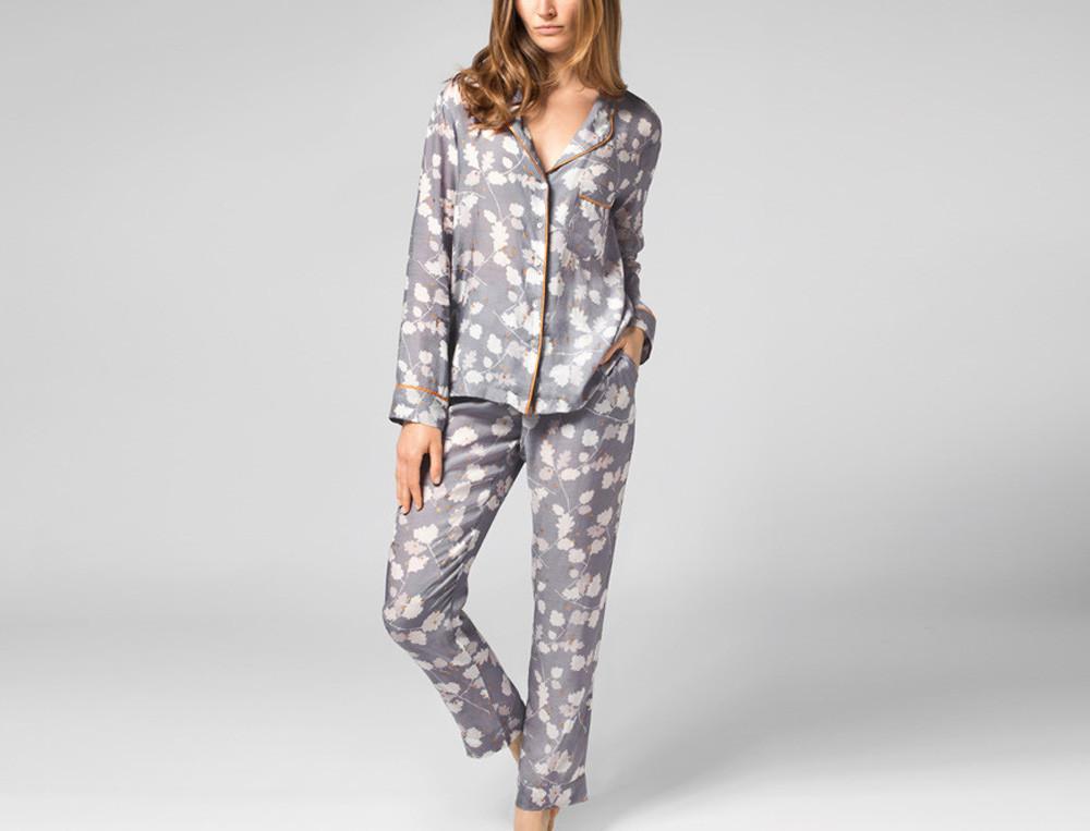 Pyjama effet soie femme Belle d'hiver